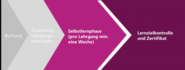 Infografik Fernlehrgang Werkschutz – Secareer